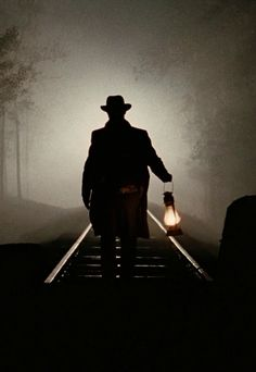 * Silhouettes, Over The Garden Wall, Southern Gothic, Old Trains, Foto Art, Train Tracks, Ghost Stories, Solitude, Dark Art