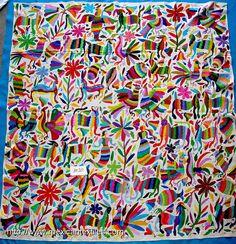 Oaxaca Embroidered Fabric
