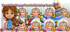 FarmVille Happy Fourth Birthday Quests  http://farmvilletask.com/farmville-quest/farmville-quests-happy-birthday-farmville/