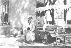 Heladero, principios del siglo XX