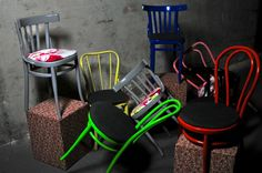 U.N.I.T.E.D. C.O.L.O.R.S. O.F. M.O.U.S.T.A.C.H.E. S.T.Y.L.E.  Chairs Pop/Tissue for set-ups.   More at https://www.facebook.com/pages/Moustache-Style/158818544176138?fref=ts