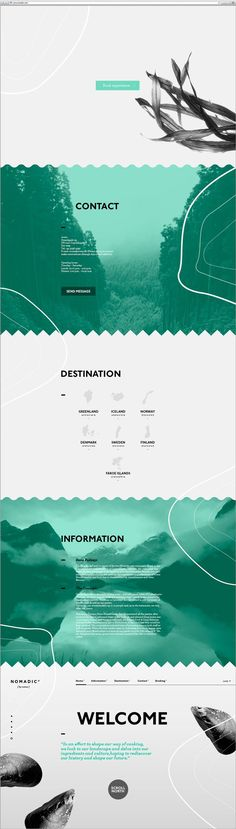 Nomadic [by noma] by Louise Lahn, via Behance