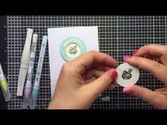 Video for Kuretake using the Zig Clean Color Real Brush markers.