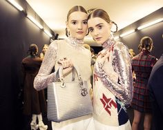 Backstage at Dior Pre-Fall 2015 in Tokyo. Photo by Taylor Jewell.