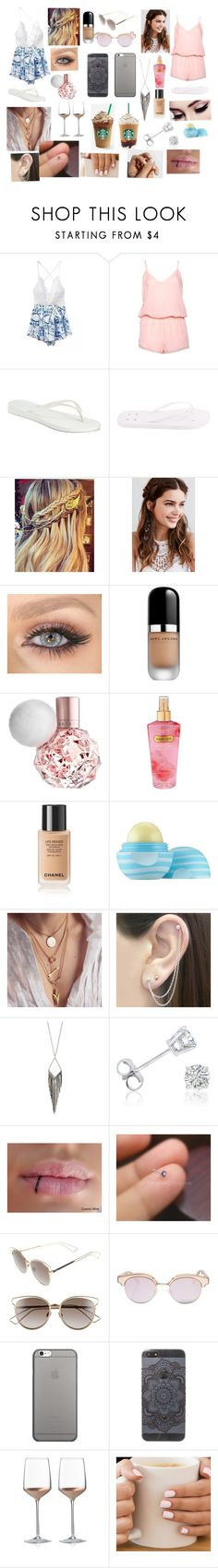 """""""My amazing day with @theycallmepoopey """" by dolphinlover18 ❤ liked on Polyvore featuring Boux Avenue, Havaianas, Rick Owens, REGALROSE, Marc Jacobs, Victoria's Secret, Eos, Otis Jaxon, Jules Smith and Amanda Rose Collection"""