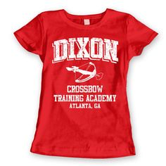 Daryl dixon crossbow training academy funny cool hip by laughwear 15