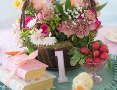 "Peter Rabbit / Birthday ""Shabby Chic Peter Rabbit 1st Birthday"" | Catch My Party"