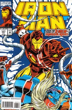 Cover for Iron Man October 1993 #297