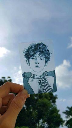Baek's fanart God such a beautiful drawing of a queen Baekhyun Fanart, Baekhyun Chanyeol, Kpop Fanart, K Pop, Exo Fan Art, Kpop Exo, Bts And Exo, Beautiful Drawings, Art Inspo