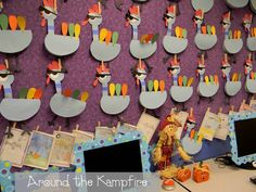 Thanksgiving bulletin board pigeon-style