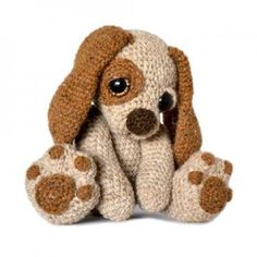 Moss The Puppy Crochet Pattern