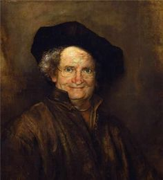 Jim Broadbent. | 35 Celebrities As Classic Paintings
