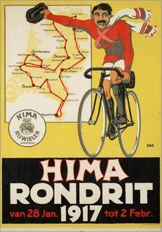 Voor HIMA fietsen 1917