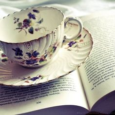 not much beats a proper cup of tea and a good book