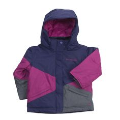 Columbia Sportswear Crushed Out Jacket - Insulated (For Toddler Girls) in Eclipse/Raspberry/Grill ~ (for Minnie-sota)