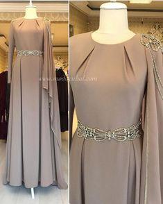 Abaya Fashion, Muslim Fashion, Modest Fashion, Fashion Dresses, Hijab Evening Dress, Hijab Dress Party, Evening Dresses, Modest Dresses, Stylish Dresses