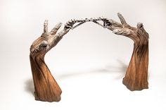 This Sculptor Will Deceive Your Eyes Into Believing His Ceramic Sculptures Are Wood | Bored Panda