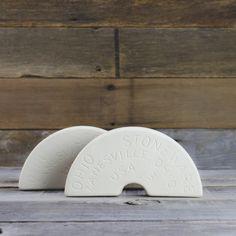 3 Gallon Ohio Stoneware Fermentation Crock Weights - Pickling Supplies