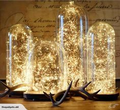 Fairy Lights LED Wire Seed Decor WARM WHITE x2 | Trade Me