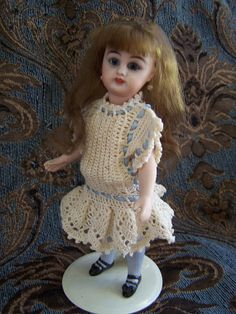 All Bisque Mignonette Doll S&H890 by Fumiko