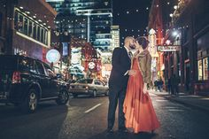 Please vote for my photo in a Minted contest! Greektown Detroit Engagement Photo