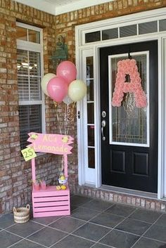 Bella Grace Party Designs: Pink Lemonade and Cuteness