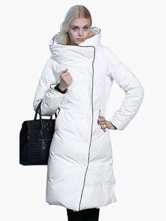 Cappotto Piumino Donna Moda inverno 2015, Lungo in 3 splendidi colori fashion in Abbigliamento e accessori, Donna: abbigliamento, Cappotti e giacche | eBay #moda #coat #cappotto