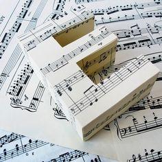 Book & Sheet Music 3d decorative letter | The Letteroom