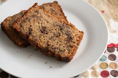 Banana bread with a PB&J swirl. Crumb Blog uses grape jelly here, what flavor jam would you use? #tasteamazing