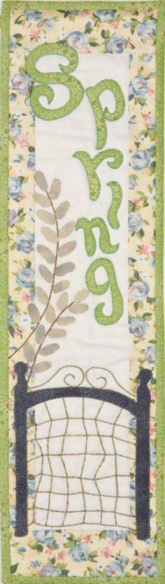 Patch Abilities Inc. Monthly Minis #3 available at www.patchabilities.com MM304 Hooray for Spring
