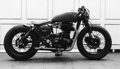 bobberinspiration:  Royal Enfield bobber