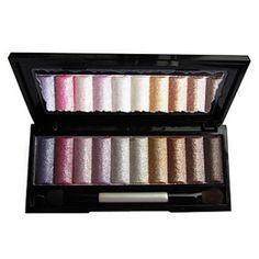 10 Colors Soft Shimmer Eye Shadow Palette (Free Brush)