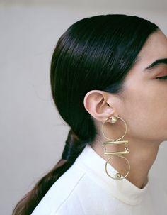 Kupa earrings by SANKTOLEONOJEWELRY on Etsy