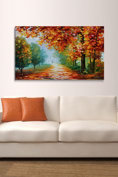 Evanescing Sight by Leonid Afremov on Wrapped Canvas