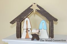 The Wood Connection: Small Nativity