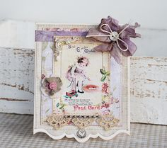 Beautiful card by Tammy Roberts ... new member of the Sizzix design team!