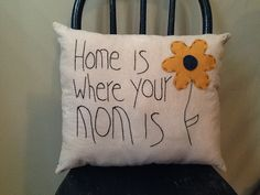 Handmade+Primitive+Crafts | Handmade By Meee primitive mothers day pillow | Mother's Day Crafts