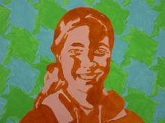 Mrs. Kamp's Canvas: Adventures in Middle School Art!: Warm and Cool Portraits with Tesselations