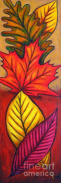 Autumn Painting - Autumn Glow by Lisa Lorenz Autumn Painting - Autumn Glow by Lisa Lorenz Autumn Painting, Autumn Art, Fall Art Projects, 6th Grade Art, Canvas Art, Canvas Prints, Leaf Art, Art Club, Art Plastique