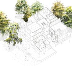 Wettbewerb für neues Quartier in Lörrach / Harry Gugger