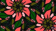 Title  Salmon-pink  Artist  Elizabeth McTaggart  Medium  Digital Art - Digital Art #tessellations #fun #cards