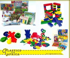 Keep your children occupied during the school holidays with assorted #toys and educational #games, available from your nearest #PlasticsforAfrica branch.