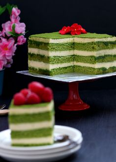 One of my favourite cake so far , this matcha tiramisu may look a bit complicated to make but actually it was pretty easy . A bit ti...