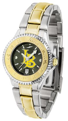 Long Beach State 49ers Womens Competitor Two Tone Anochrome Watch