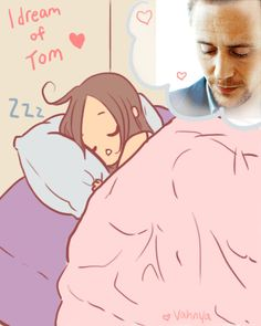 I dream of Tom Hiddleston (gif)