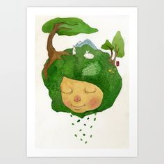 lucky Art Print by Young Ju | Society6