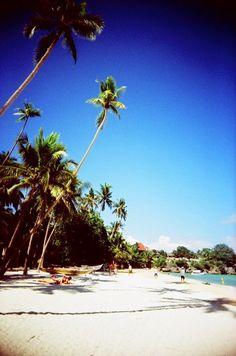 Lomography: Alona Beach. Bohol, Cebu