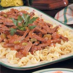 Tangy Beef Strips