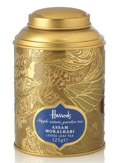 Harrods tea packaging