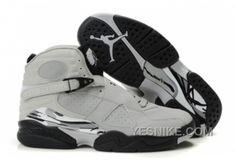a41c227a7da768 Latest Listing Discount 2012 New Jordans 8 Glow Vamp Grey Black White For  Sale